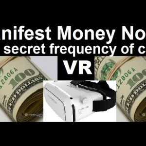 3d VR the secret frequency for manifesting money fast, wealth&abundance brainwave, Wishes fulfilled!