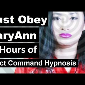 10 hours of direct command hypnosis, you must share this video.