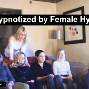 Elena Beloff Hypnosis show Part 1 - 6 girls hypnotized by a female hypnotist.