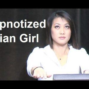 Asian Girl Hypnotized on TV #hypnosis #hypno #NLP