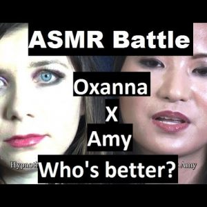 ASMR Battle! Oxanna VS Amy - Whispering Hypnosis for sleep with 3D sound