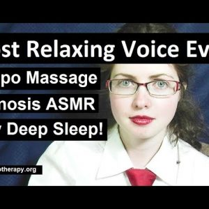NEW! Tempo Massage hypnosis. Softly spoken ASMR for sleep with Maggie. Insomnia cure!