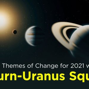 Big Themes of Change for 2021 with Saturn - Uranus Square