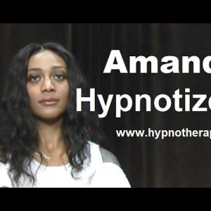 College girl Hypnotized on TV #hypnosis #hypno #NLP #trance
