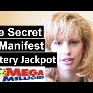 The secret meditation to manifest lottery jackpot fast! Mega Millions edition