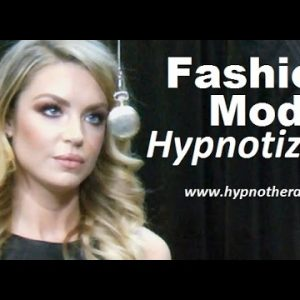 Blonde Model hypnotized on live TV - Pocket watch induction, sleep trigger, jedi mind trick #NLP