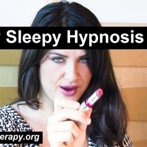 Hypnotist Jennifer's lipstick makes you sleepy, very sleepy. Hypnosis for Sleep ASMR