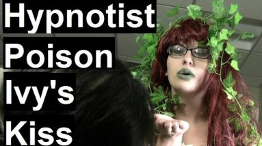 Poison Ivy's kiss, pocket watch and finger trance - Random Female Hypnotist 17 #cosplay #hypnosis
