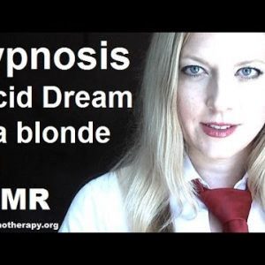 Hypnosis for sleep with Bethany-Lucid dreams of a blonde girl #ASMR #hypnosis #NLP