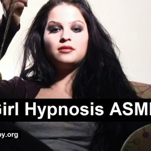Goth girl's pocket watch hypnosis ASMR - Insomnia cure. Powerful relaxing voice