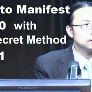 How to manifest $1000 with the secret method Part 1