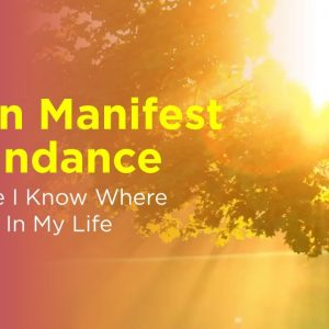I Can Manifest Abundance Because I Know Where It Exists In My Life