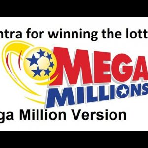The secret mantra for winning the lottery, MegaMillion version. Listen to this daily to win big!