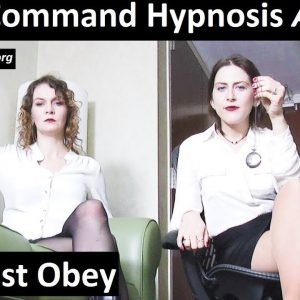 Tag team direct command hypnosis - ASMR Roleplay. 2 girls make you share this video.