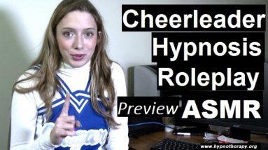 #ASMR Roleplay hypnosis; cheerleader hypnotize you *preview* #hypnosis #NLP #roleplay #cheerleader
