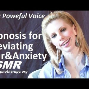 Hypnosis for fear and anxiety relief ASMR with Beth Hammond (no music version)