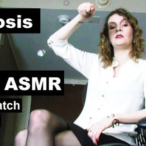 ASMR softly spoken hypnosis for sleep with Rachel, pocket watch induction for resisting subjects.