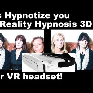 Virtual Reality Hypnosis: 4 Ladies Hypnotize you to sleep #ASMR #hypno #hypnosis