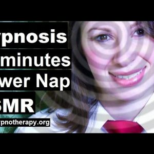 20 minutes power nap ASMR Hypnosis for sleep with waking; spiral induction #hypno #hypnosis #ASMR