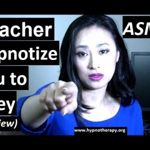 #ASMR #hypnosis Teacher hypnotize you to be quiet and behave #Roleplay preview #NLP