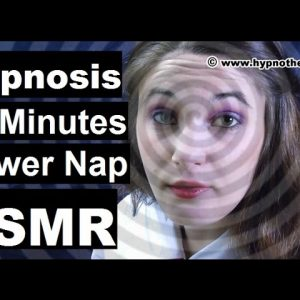 ASMR Hypnosis 20 minutes power nap for sleep with awakening; spiral induction #hypno #hypnosis #ASMR