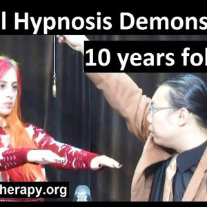 Hypnotist Bernie's Exposition - Episode 190 with Lilith 10 years follow up (Relaxed Confidence)