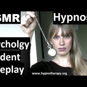 #ASMR Roleplay hypnosis; College Student hypnotize you for psychology experiment #hypnosis #NLP