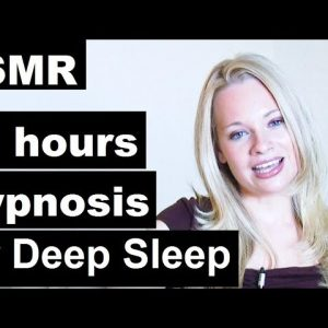 10 hours Hypnosis for Sleep with Emily - Ultra deep sleep (no music version) #ASMR #insomnia