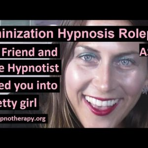 Feminization Hypnosis: Turned into a girl after going to a stage hypnosis show (preview)  ASMR