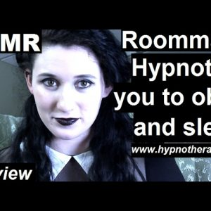 #ASMR Roleplay hypnosis; Goth roommate hypnotize you to sleep *preview* #hypnosis #NLP #roleplay