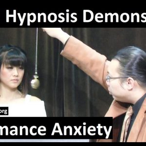 Hypnotist Bernie's Exposition Episode 192 with Sophi (performance axiety relief)