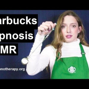 Starbucks girl hypnotize costumer to sleep Roleplay hypnosis ASMR