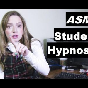 Student hypnotized her teacher to sleep  #ASMR #hypno #hypnosis