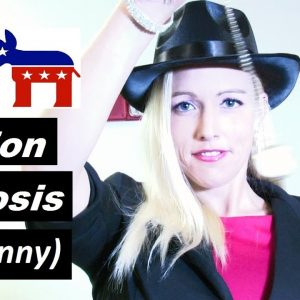 Election 2020 hypnosis. ASMR funny bloopers. Biden Trump Democrat Republican
