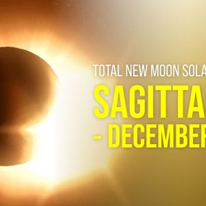 Total New Moon Solar Eclipse in Sagittarius - December 14th