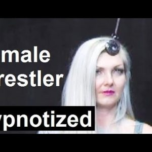 Soccer mom hypnotized on live TV, pocket watch hypnosis induction with fractionation demonstration