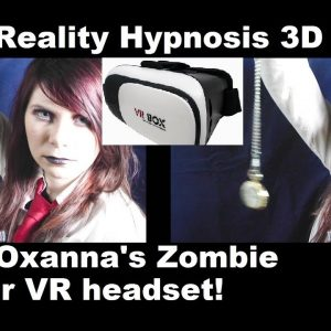 Virtual Reality ASMR Hypnosis 3D; Obey Zombie Queen; Use your VR headset!