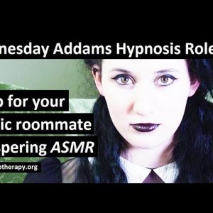 Wednesday Addams hypnotized you to sleep, Whispering ASMR roleplay