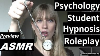 #ASMR Roleplay hypnosis; College Student hypnotize you *preview* #hypnosis #NLP #roleplay