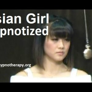 Asian Girl Hypnotized on live TV (pocket watch induction, sleep trigger) #hypnosis #hypno #NLP