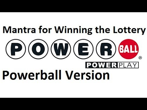 The secret mantra for winning the lottery, Powerball version. Listen to this daily to win big!