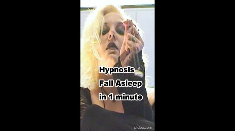 Warning! This video will make anyone fall asleep in 60 seconds. Guaranteed! #shorts Hypnosis Video