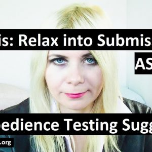 Mind melt into obedience. ASMR Deep hypnosis with direct command suggestions. Hypnotist Oxanna