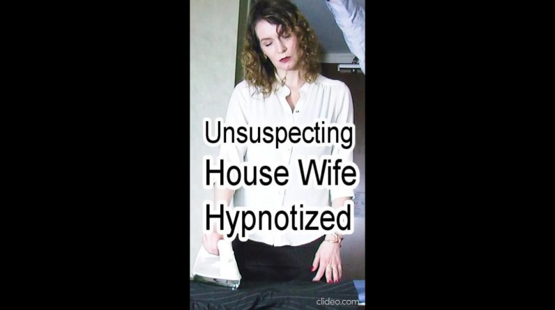 Housewife Hypnotized for no reason #shorts (Can't resist going into Hypnosis Roleplay video ASMR)